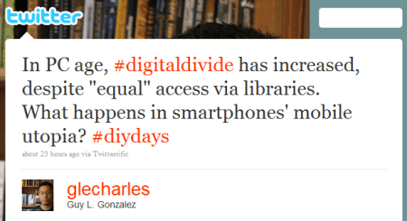 Mobile Utopia and the Digital Divide