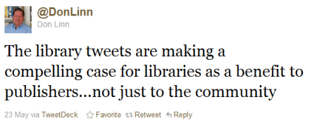 Don Linn on Libraries