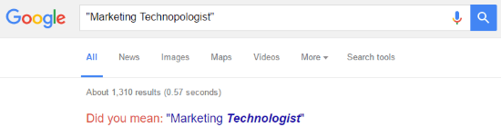 marketing technopologist