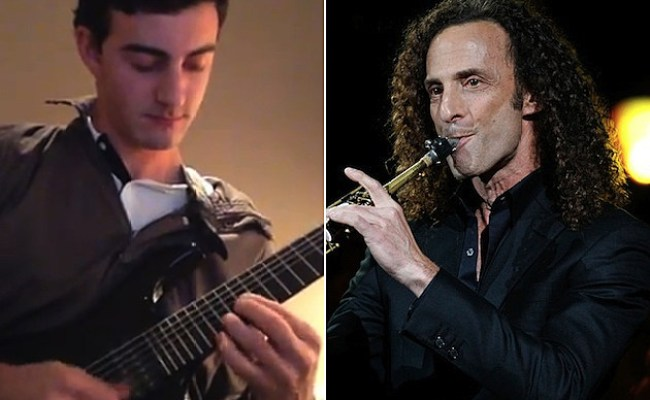 Saxophonist Kenny G S Son Max Gorelick Shreds On Guitar In