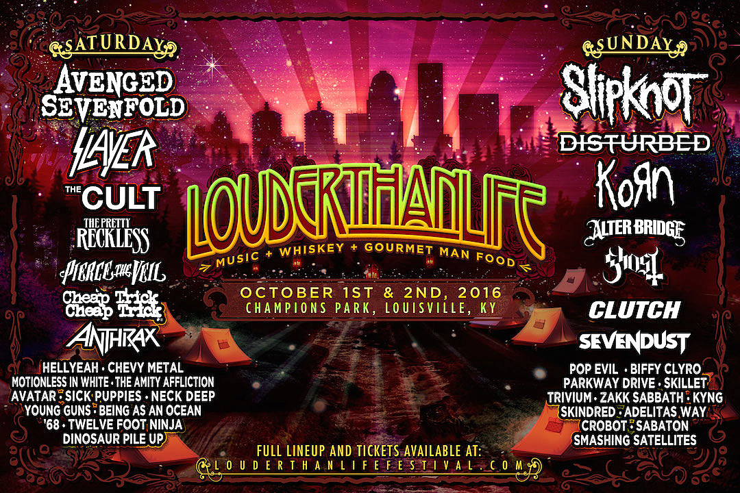 Image result for louder than life louisville