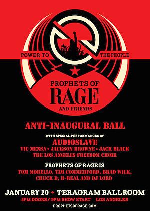 Resultado de imagen para prophets of rage and friends