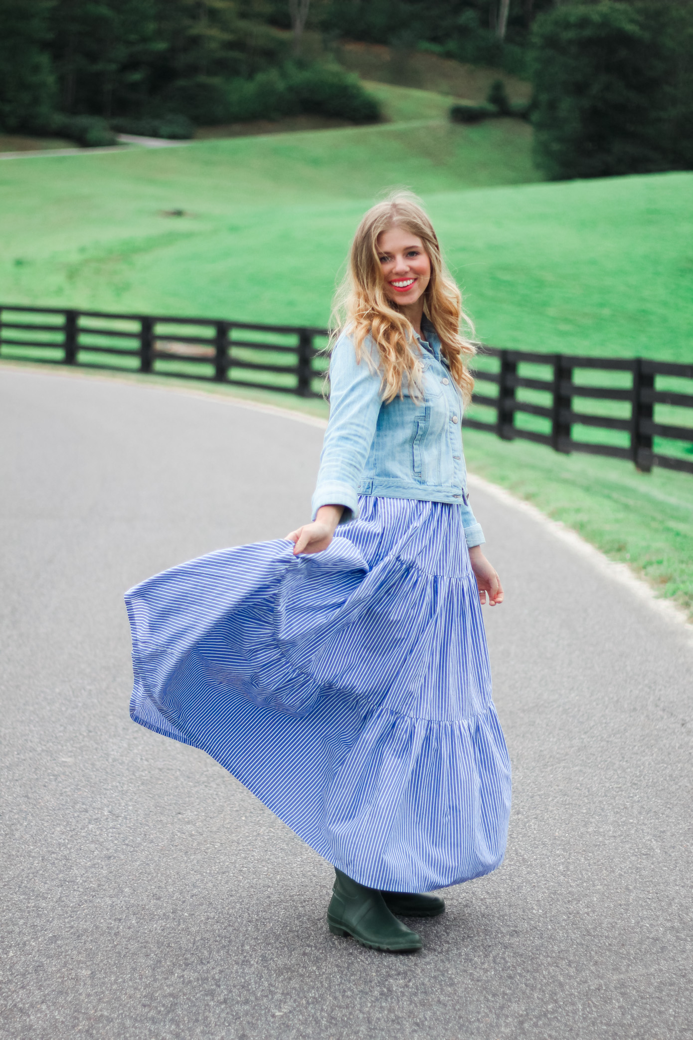 From Summer to Fall Maxi Dress  Banner Elk NC  Louella