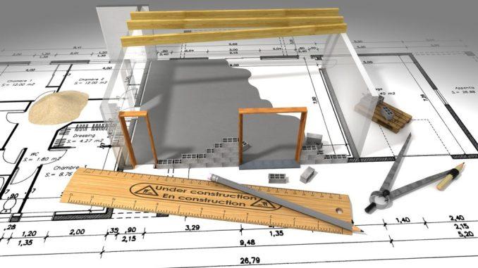 plan-et-travaux-de-construction