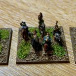 6mm German Command bases for Infamy Infamy