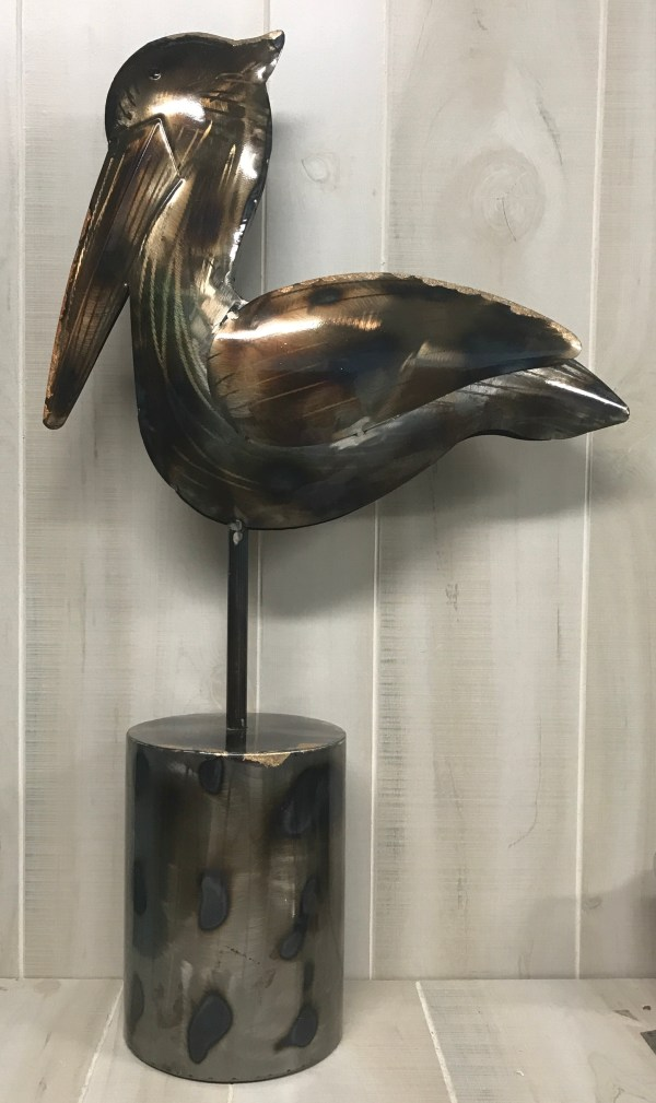 Pelican Metal Sculpture