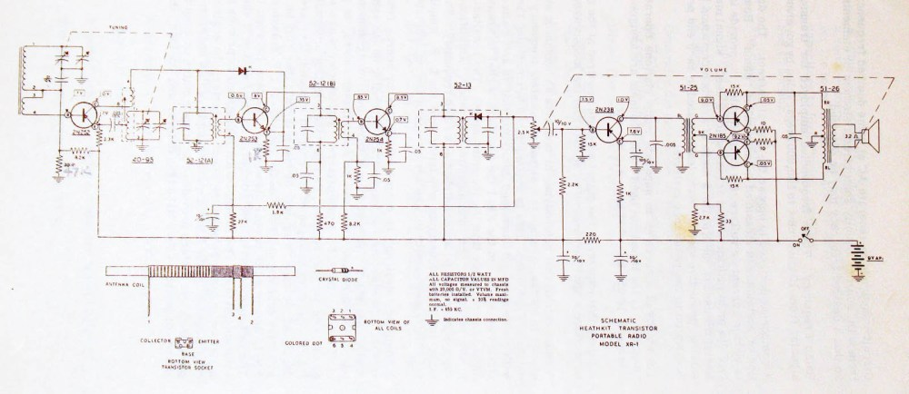 medium resolution of i believe i narrowed down an issue but need to understand what is typical since this is my first transistor radio rework here is the schematic for