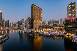 BREATHTAKING DUBAI MARINA VIEW FROM THIS HIGH-END ELEGANT 3 BED APARTMENT AT MARINA QUAYS