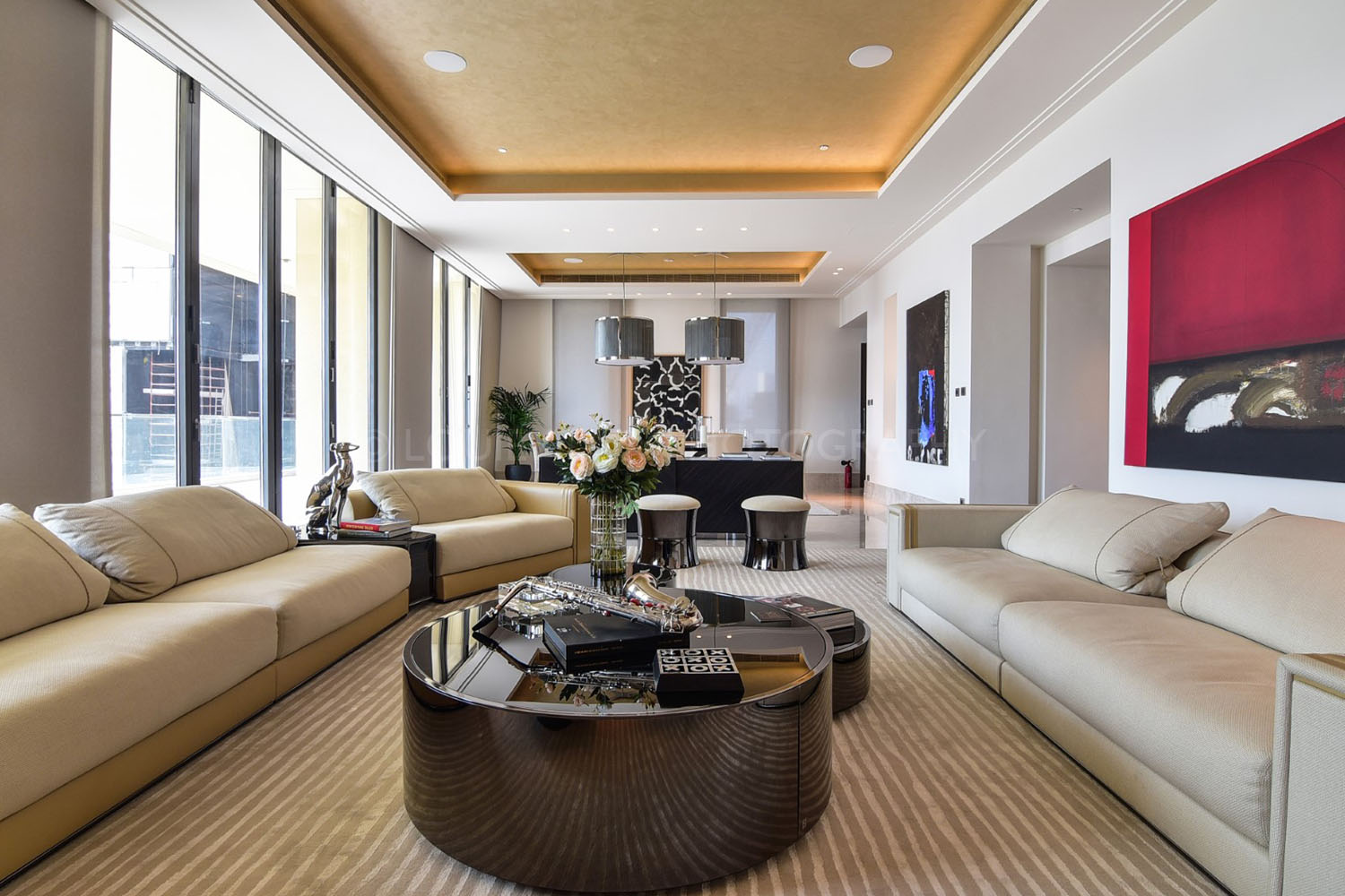 Real Estate Photography - Ultra Luxury Residence in Dubai Downtown
