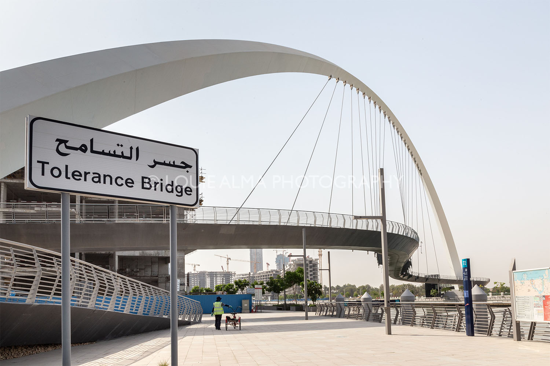 Louie Alma - Landscape Photography, Dubai Canal, Tolerance Bridge