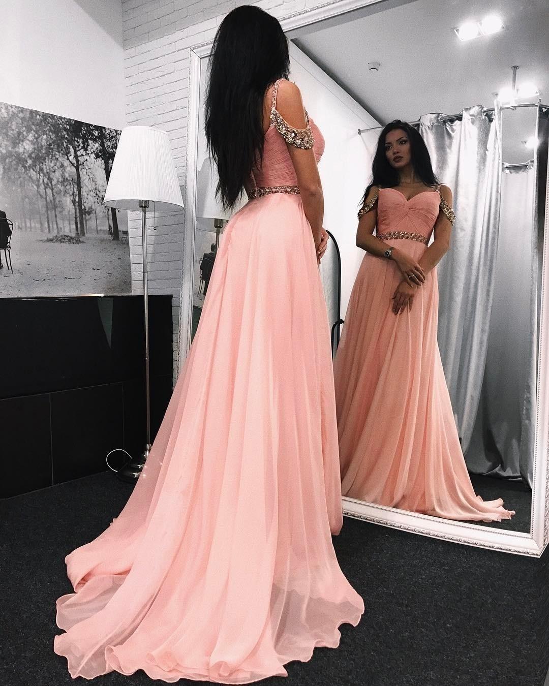 Abendkleider lang rosa glitzer - Beliebte kurze kleider