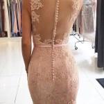 Designer Cool Rosa Kleid Lang Spitze für 2019 Top Rosa Kleid Lang Spitze Design