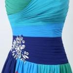 Abend Perfekt Kleid Grün Blau Stylish Erstaunlich Kleid Grün Blau Bester Preis