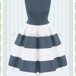 Abend Großartig Schwarz Weißes Kleid Stylish17 Schön Schwarz Weißes Kleid Ärmel