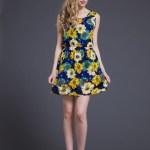 Leicht Kleid Große Blumen Design10 Wunderbar Kleid Große Blumen Boutique
