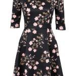 10 Coolste Schwarzes Kleid Mit Blumen StylishFormal Luxurius Schwarzes Kleid Mit Blumen Boutique