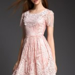 13 Ausgezeichnet Kleid Rosa Spitze Kurz Spezialgebiet17 Luxurius Kleid Rosa Spitze Kurz Vertrieb