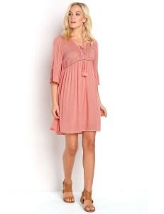 20 Spektakulär Kleid Altrosa Spitze BoutiqueAbend Spektakulär Kleid Altrosa Spitze Ärmel