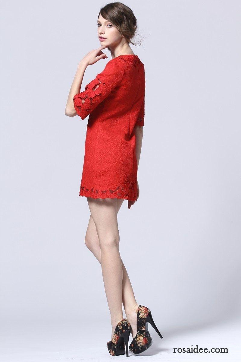 Rote kleider kurz elegant