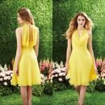 Abend Erstaunlich Kleid Gelb Hochzeit VertriebDesigner Einfach Kleid Gelb Hochzeit Stylish