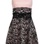 Designer Luxurius Kleid Schwarz Rosa für 201920 Cool Kleid Schwarz Rosa Design