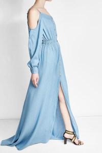 Einfach Jeans Kleid Maxi Spezialgebiet Genial Jeans Kleid Maxi Stylish