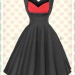 Einzigartig Kleid Rot Schwarz für 201913 Genial Kleid Rot Schwarz Galerie