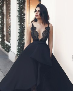15 Schön Abendkleid Lang Spitze Schwarz StylishAbend Wunderbar Abendkleid Lang Spitze Schwarz Bester Preis
