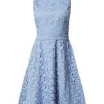 Abend Top Blaues Kleid Mit Spitze Vertrieb Schön Blaues Kleid Mit Spitze Boutique