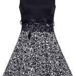 17 Perfekt Damen Kleider Schwarz Weiß StylishFormal Luxus Damen Kleider Schwarz Weiß Ärmel