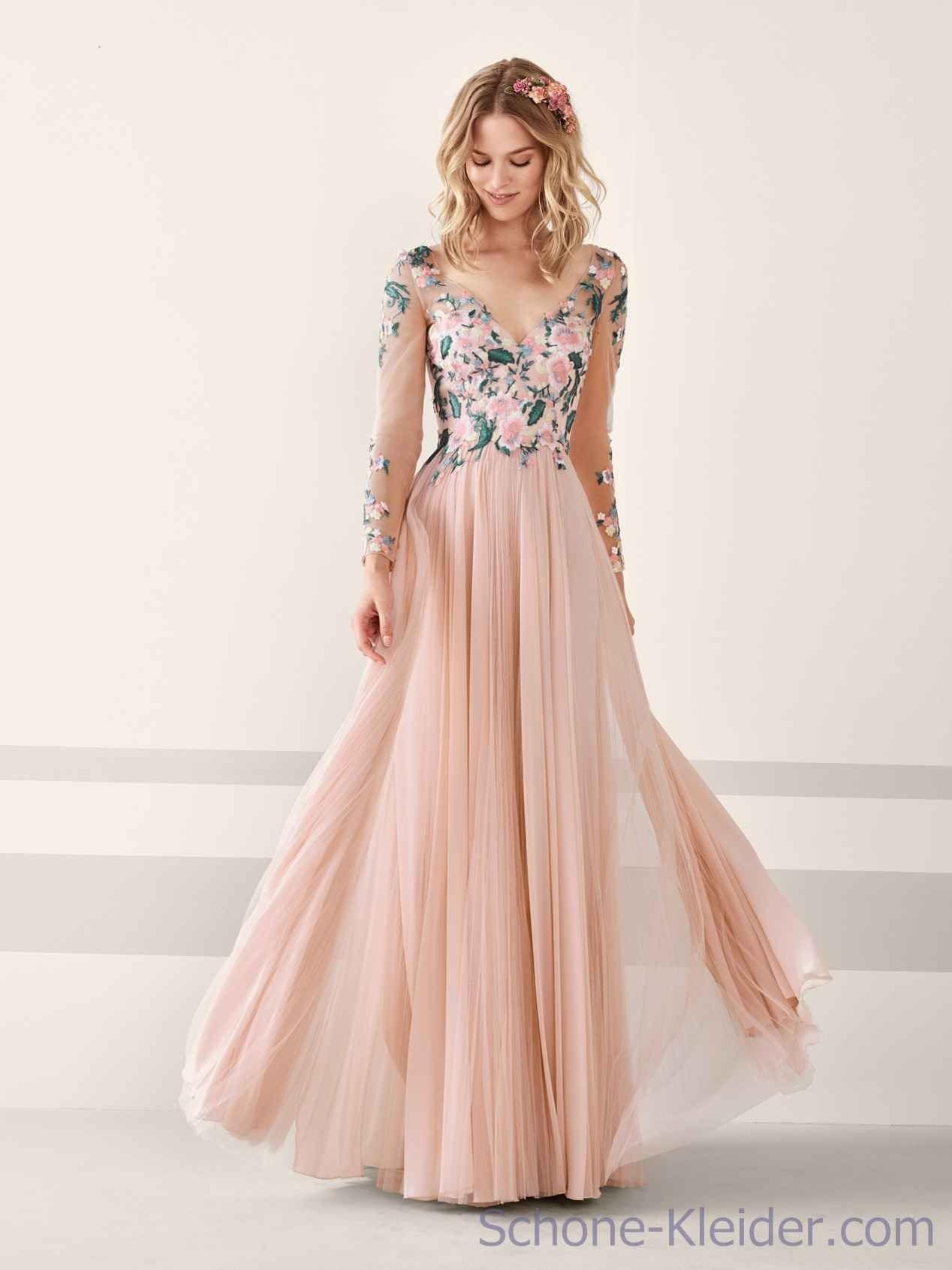 Festliche kleider lang rosa