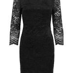 Einfach Kleid Schwarz Spitze Spezialgebiet20 Luxurius Kleid Schwarz Spitze Stylish