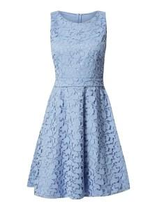 13 Wunderbar Kleid Spitze Blau Ärmel17 Leicht Kleid Spitze Blau Galerie