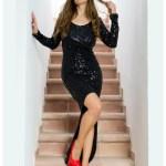 15 Elegant Festliches Schwarzes Kleid GalerieDesigner Ausgezeichnet Festliches Schwarzes Kleid Stylish