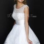 Leicht Weißes Kleid Kurz BoutiqueFormal Einzigartig Weißes Kleid Kurz Stylish