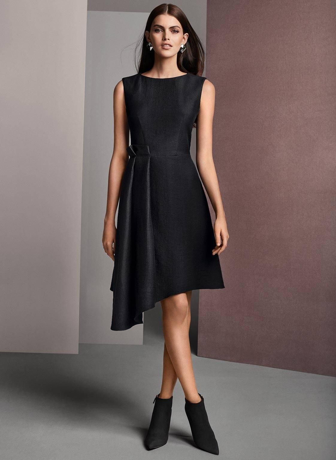Schwarzes etuikleid knielang - Beliebte kurze kleider