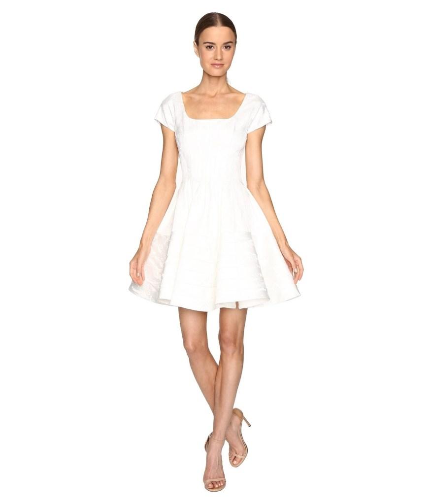 16eeaeb641c4 Designer Schön Kurze Kleider Weiß Spezialgebiet - Abendkleid