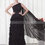 Elegant Abendkleid Bodenlang Schwarz Design10 Großartig Abendkleid Bodenlang Schwarz Ärmel