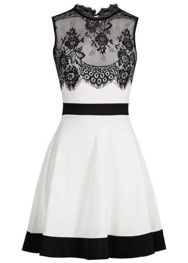 Fabelhaft damen kleid schwarz weiß gestreift Archives - Abendkleid &QB_94