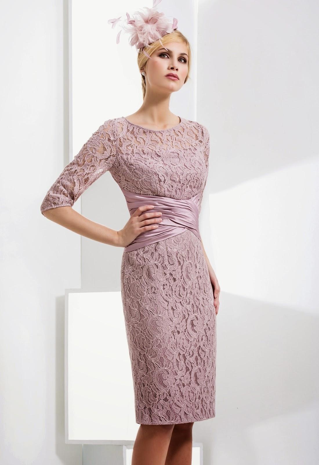 Elegantes kleid fur die brautmutter