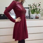 Designer Erstaunlich Weinrotes Kleid Vertrieb17 Großartig Weinrotes Kleid Boutique