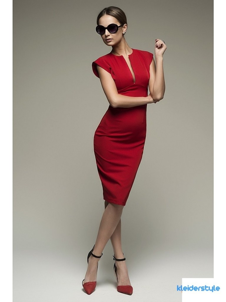 10 Schon Kleid Fur Hochzeit Rot Stylish Abendkleid