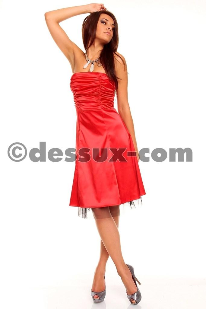 Erstaunlich Kleid Fur Hochzeit Rot Boutique Abendkleid