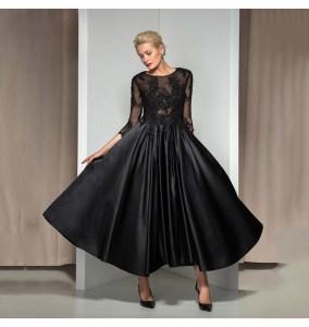 Abend Spektakulär Abendkleid Wadenlang Ärmel10 Erstaunlich Abendkleid Wadenlang Vertrieb
