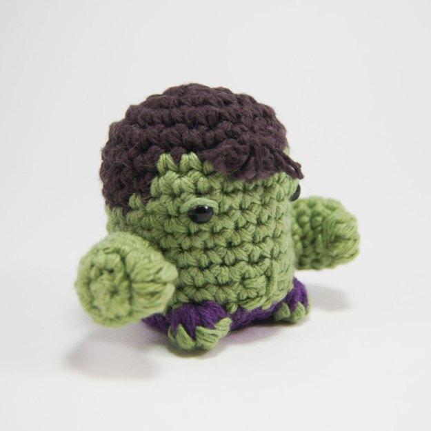 Crocheted Hulk