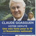Analyse stylistique et modification du tract électoral d'un député