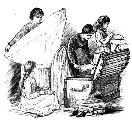 little women in the garret