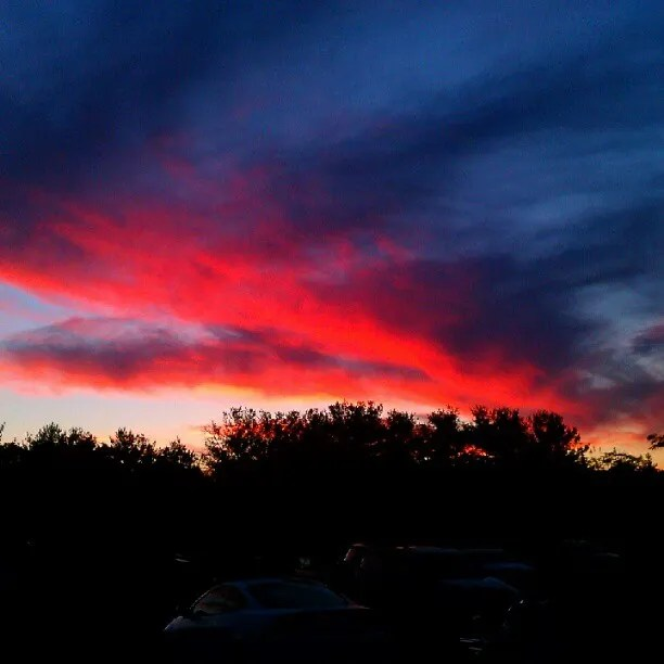 #sunset fire in the sky