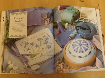 LOUISE ALICE JAY VINTAGE CROSS STITCH FLOWERS PATTERNS 2