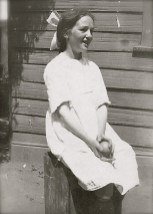 My grandmother, Olive McIntee, aged about 12 (c1922). She used to say I looked like her.